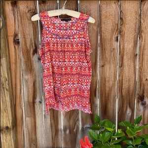 French Laundry floral tank top
